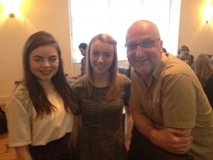 Roisin and Aoife, my two 2014/15 mentees